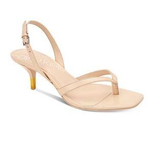 CALVIN KLEIN Monty thong sandals